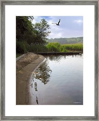 Cove Framed Print by Brian Wallace