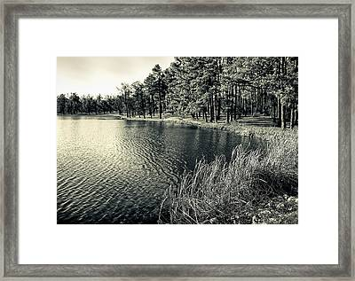 Framed Print featuring the photograph Cove by Greg Jackson