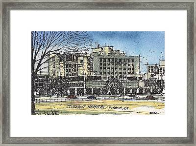Covenant Hospital Framed Print by Tim Oliver