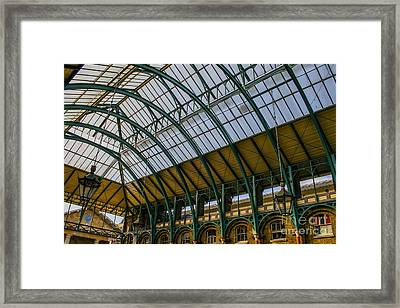 Covent Garden Market Framed Print by Patricia Hofmeester