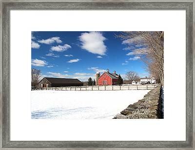Coventry Farm Framed Print by Andrea Galiffi