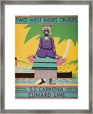 Cover Of Descriptive Brochure For Framed Print by Ken Welsh