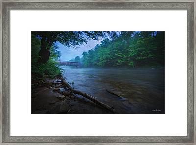 Covered Bridge  Framed Print by Everet Regal