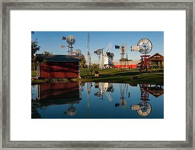 Covered Bridge Mini Framed Print by Gene Sherrill