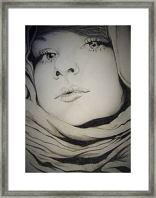 Covered Framed Print by Kimberly Besaw