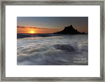 Covered Framed Print by Mike  Dawson