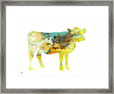 Cow 3 Framed Print