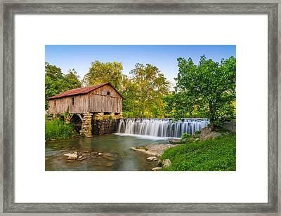 Cowans Mill Summer Evening Framed Print