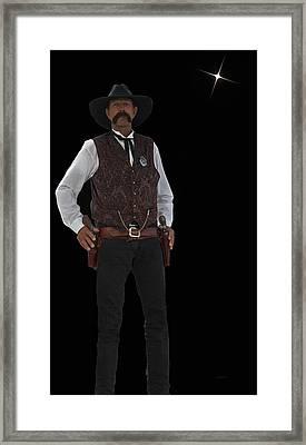 Cowboy Bill Framed Print