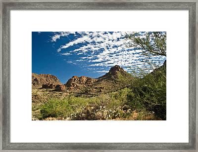 Cowboy Country Arizona 8 Framed Print by Douglas Barnett
