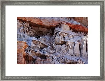 Cowboy In The Canyon Framed Print by Ivete Basso Photography