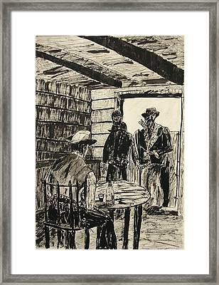 Cowboys Framed Print