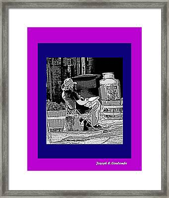 Cowboys R Artists' Too Framed Print by Joseph Coulombe