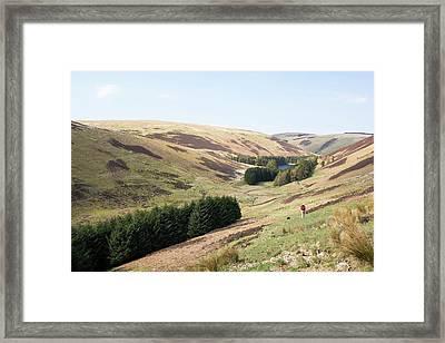 Cowgill Upper Reservoir Framed Print by Ashley Cooper