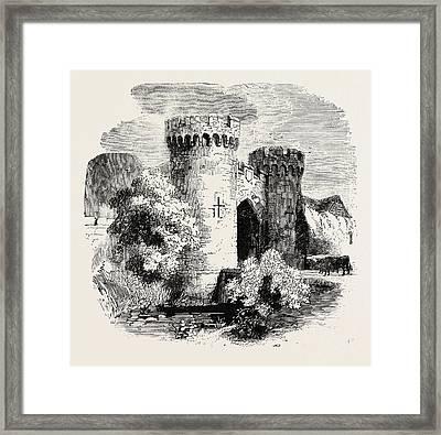 Cowling Castle Kent Framed Print by English School