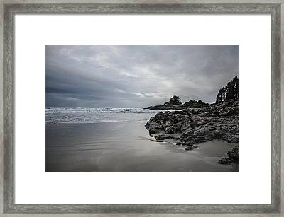 Cox Bay Afternoon  Framed Print by Roxy Hurtubise