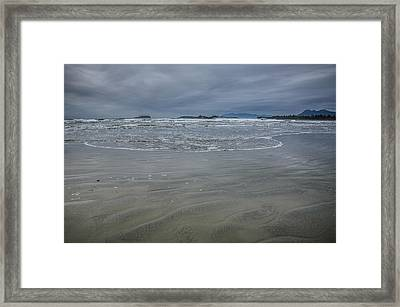Cox Bay Late Afternoon  Framed Print by Roxy Hurtubise