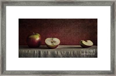 Cox Orange Apples Framed Print by Priska Wettstein