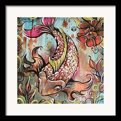 Florida Fish Framed Prints