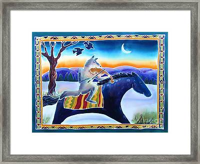 Coyote Music Framed Print