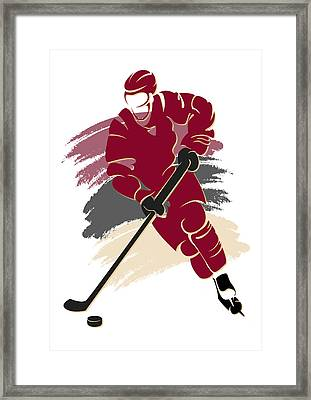 Coyotes Shadow Player2 Framed Print