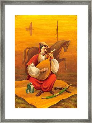 Cossack Mamay Framed Print