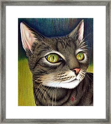 Cozette Framed Print