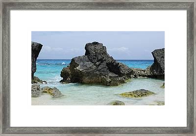 Cozy Cove Framed Print by Luke Moore