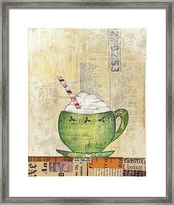 Cozy Cups II Framed Print