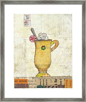 Cozy Cups Iv Framed Print
