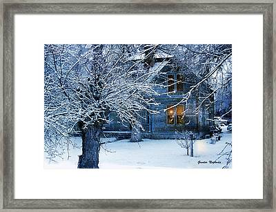 Framed Print featuring the photograph Cozy by Gunter Nezhoda