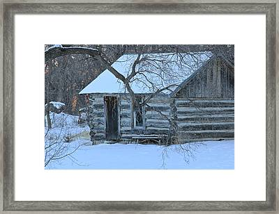 Cozy Hideaway Framed Print by Penny Meyers
