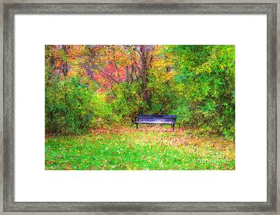 Cozy Little Nook Framed Print