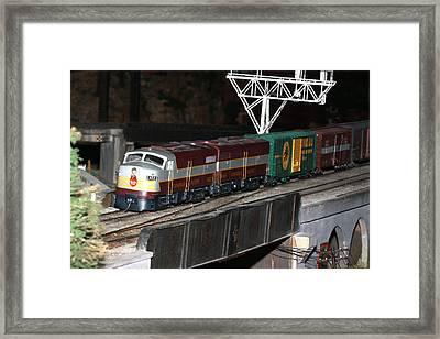 Cp Engine 4023 Framed Print by Hugh McClean
