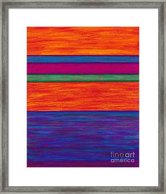 Cp024 Framed Print by David K Small