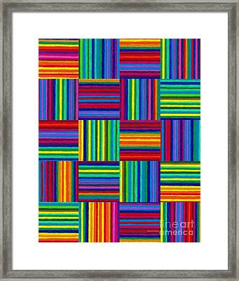 Cp038 Rotated Framed Print