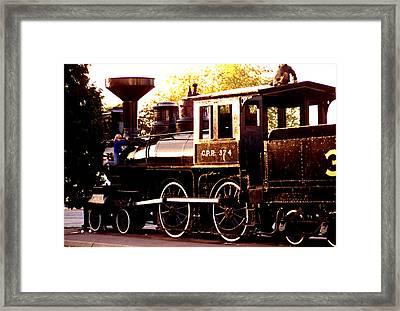 Cpr Engine 374 Framed Print