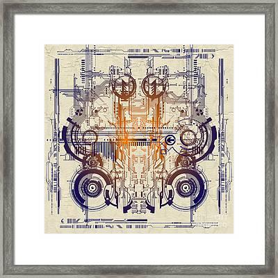 Cpu IIi Framed Print by Diuno Ashlee