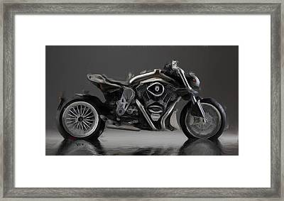 Cr And S  Duu Framed Print