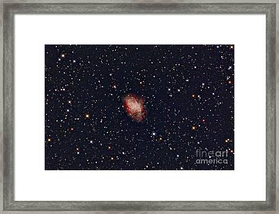 Crab Nebula Framed Print by John Chumack