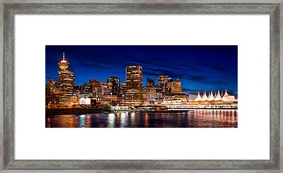 Crab Park At Portside Framed Print