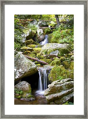 Crabtree Falls Framed Print