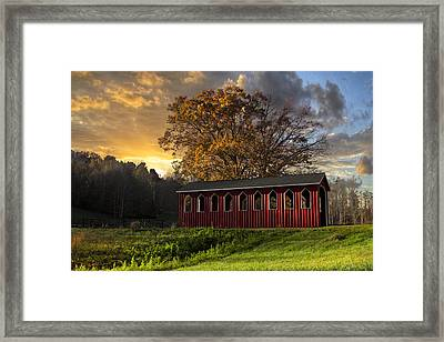 Crack Of Dawn Framed Print