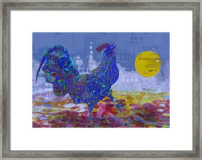 Crack Of Dawn Framed Print