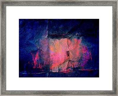 Cracked Framed Print