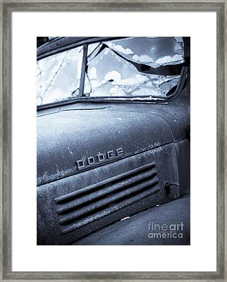 Cracked With Selenium Toning Framed Print by Gordon Wood