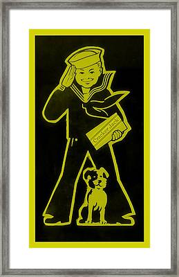 Crackerjack Gold Framed Print by Rob Hans