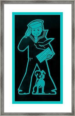 Crackerjack Aquamarine Framed Print by Rob Hans