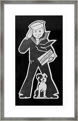 Crackerjack B W Framed Print by Rob Hans