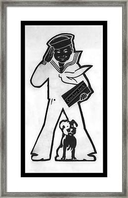 Crackerjack Inverted Framed Print by Rob Hans